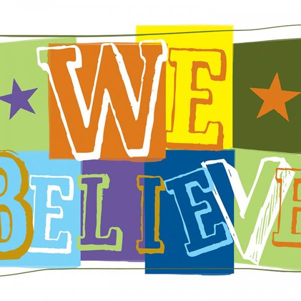 We Believe Class Graphic